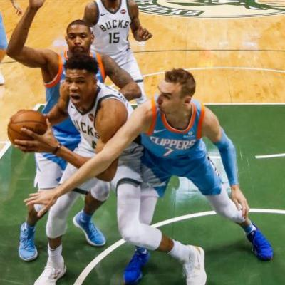 Costly loss: Giannis Antetokounmpo injures ankle as Bucks fall to Clippers
