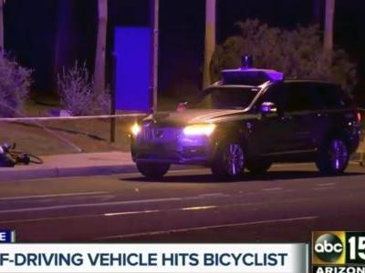 Police release video of fatal crash by Uber self-driving SUV