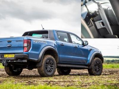 The Ford Ranger Raptor Has Better Paddle Shifters Than Most Supercars