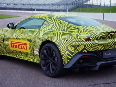 Official: 2018 Aston Martin Vantage To Pack Just Over 500hp From Biturbo V8