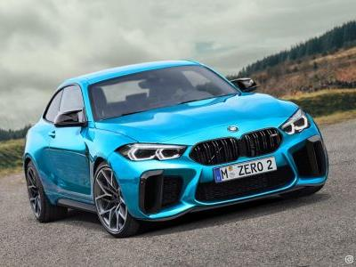 Next-Gen BMW M2 Rendered Using 2 Series Gran Coupé and M8 For Design Cues