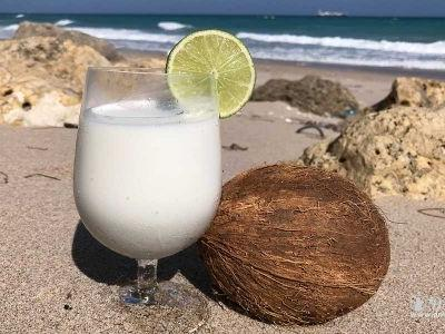The Drink That Made It Feel Like A Real vacation: Bahamian Sky Juice