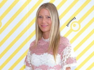 Gwyneth Paltrow's Goop Staff Read Her Early Newsletters Out Loud to Her, and She's Cringing