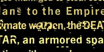 'Rogue One' Gets A Fanmade Opening Crawl to Set The Stage For The 'Star Wars' Story