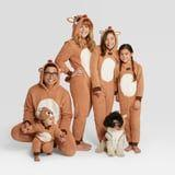Target Is Selling Matching Holiday Pajamas For the Entire Family - Sorry, Dog, Even You're Included