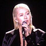Christina Aguilera's Whitney Houston Tribute at the AMAs Will Give You Goosebumps