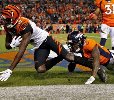 Bengals end 2-game slide with 20-17 win over Broncos