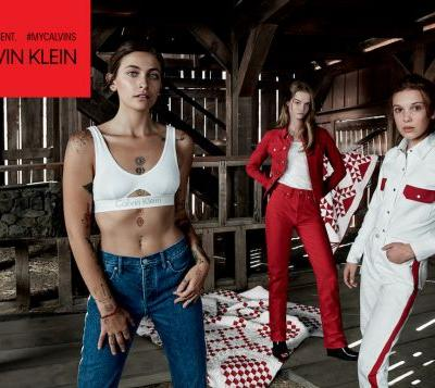 Paris Jackson, Millie Bobby Brown And Lulu Tenney Are The Latest To Star For Calvin Klein Jeans Our Family MyCalvins Campaign
