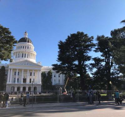California spent $19 million to shield Capitol from protests