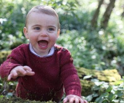 Royal Family releases new photos of Prince Louis