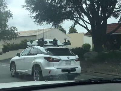 Here's a new look at Apple's self-driving car