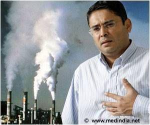 Risk in Heart Attack Linked to Increase in Pollution