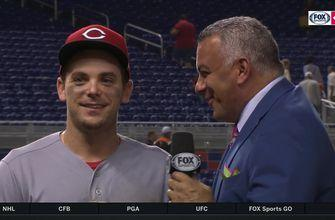 Scoot Gennett seeing the ball well after accounting for all four of the Reds runs in win
