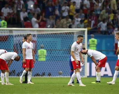 AP PHOTOS: England grand, Poland gone on Day 11 of World Cup