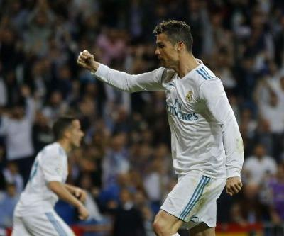 Ronaldo scores with backheel flick, saves Madrid from loss
