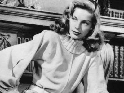 Great Outfits in Fashion History: Lauren Bacall in Timeless Sweater Dressing