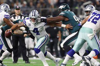 Dak, Cowboys can't keep up with Wentz, Eagles in 37-9 loss