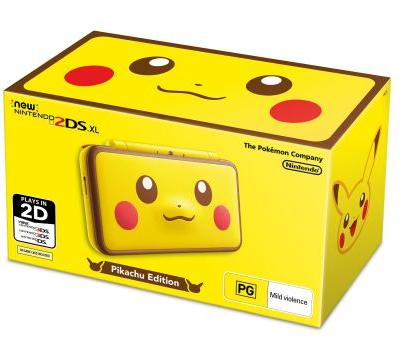 Grab this New Pikachu 2DS XL on January 26