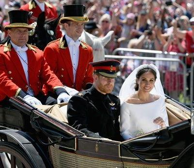 Princess Eugenie's Wedding Compared To Meghan & Harry's Wedding Has Similarities