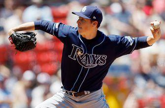 Rays riding perfect game through 8 innings vs. Orioles