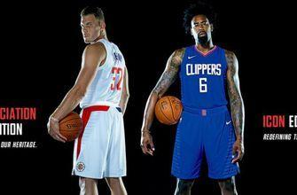 Clean new look: Clippers unveil Nike 'New Wave' uniforms