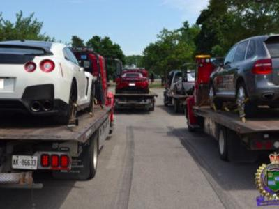 Canadian Cops Who Are Clearly Tired Of This Bullshit Seize Exotic Sports Cars For 'Stunting'