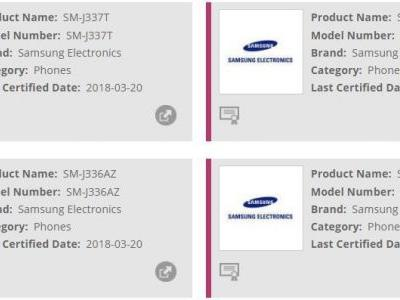 New Samsung Galaxy J3 (2018) Models Certified By WFA