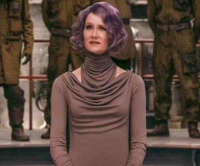 Laura Dern's Heroic Scene Left AMC Theaters Giving Warning For Star Wars: The Last Jedi Fans