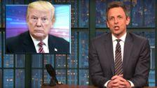 Seth Meyers Imagines How Donald Trump's Meeting With Kim Jong Un Will Go