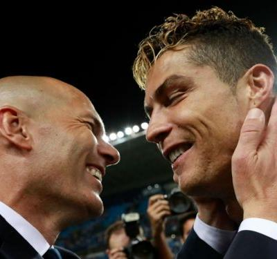 Ronaldo is the best player in history, Zidane agrees