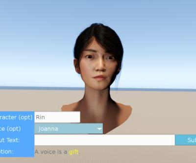 In Amazon's game engine, voice actors can now be replaced with robots
