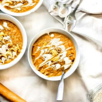 Cozy Carrot Ginger Soup