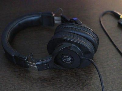 Pump some sound in your ears with Audio-Technica's $59 ATH-M30x headphones
