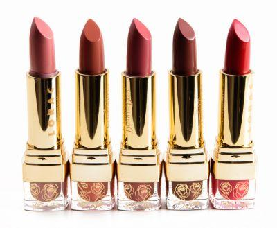 LORAC Beauty and the Beast Lipstick Collection