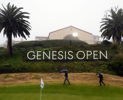 In rare move, PGA Tour wipes out early scores at rainy Genesis Open