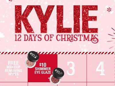 The Kylie Cosmetics 12 Days Of Christmas Deals Include Tons Of Ways To Save