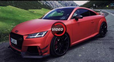 ABT Shows Off 500 PS Supercar-Slaying TT RS-R On A Mountain Road