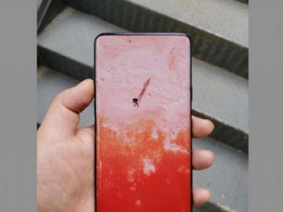 Alleged live Galaxy S10 image shows almost unbelievable full screen design