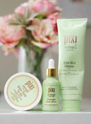The Summer of Skin Care! Glycolic Acid Goodness With Pixi Glow Mud Cleanser, Glow Tonic To-Go, and Overnight Glow Serum