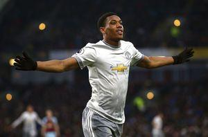 Martial grabs winner as United squeeze past Burnley