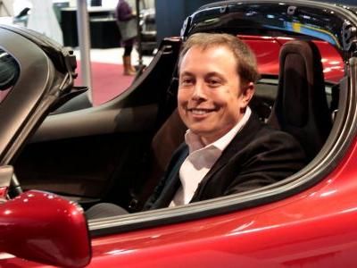 Elon Musk may not be joking about launching his red Tesla Roadster to Mars in January 2018