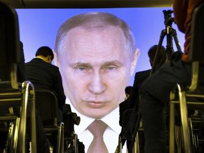 A self-assured Putin seems confident of electoral victory