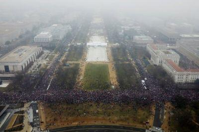 These Aerial Photos Show the Size of Women's March Crowds in 6 Cities
