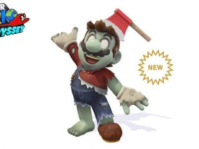 You can't escape the evil of the Thriller with this new Super Mario Odyssey costume
