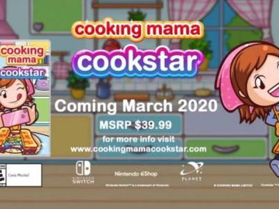 Cooking Mama: Cookstar Comes to Switch Next Month