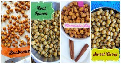 Roasted Chickpeas for Kids, 4 Ways