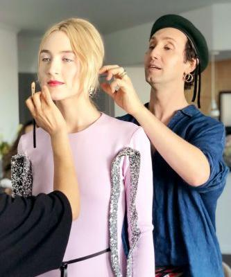 Exclusive: Getting Ready for the SAG awards with Saiorse Ronan