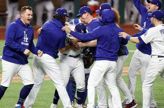 Dodgers beat Braves, 4-3, in NLCS Game 7, celebrate series comeback, World Series berth