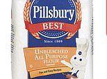 More than 12,000 cases of Pillsbury flour recalled from across the US over salmonella fears