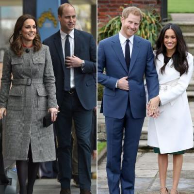 Harry and Meghan Will Stay With William and Kate Over the Holidays